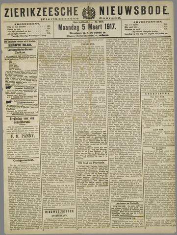 Zierikzeesche Nieuwsbode 1917-03-05