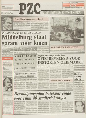 Provinciale Zeeuwse Courant 1983-02-22