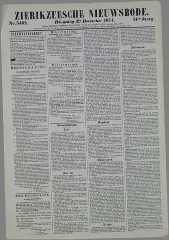 Zierikzeesche Nieuwsbode 1874-12-29