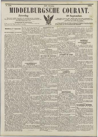 Middelburgsche Courant 1901-09-28