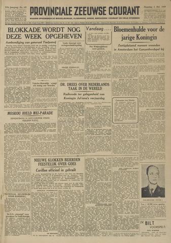Provinciale Zeeuwse Courant 1949-05-02