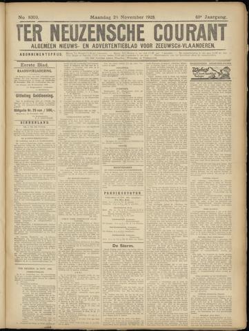 Ter Neuzensche Courant. Algemeen Nieuws- en Advertentieblad voor Zeeuwsch-Vlaanderen / Neuzensche Courant ... (idem) / (Algemeen) nieuws en advertentieblad voor Zeeuwsch-Vlaanderen 1928-11-26