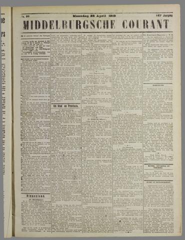 Middelburgsche Courant 1919-04-28