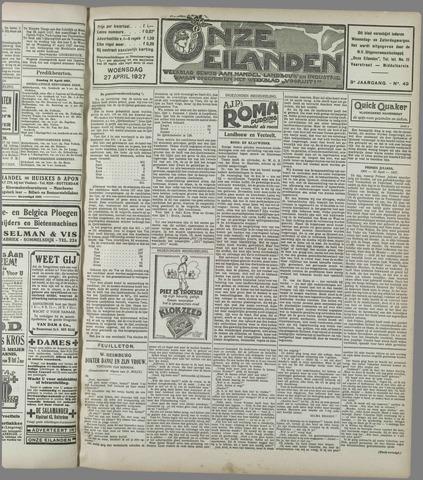 Onze Eilanden 1927-04-27