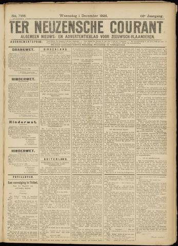 Ter Neuzensche Courant. Algemeen Nieuws- en Advertentieblad voor Zeeuwsch-Vlaanderen / Neuzensche Courant ... (idem) / (Algemeen) nieuws en advertentieblad voor Zeeuwsch-Vlaanderen 1926-12-01