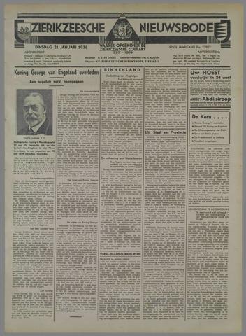 Zierikzeesche Nieuwsbode 1936-01-21
