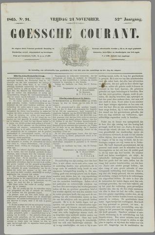 Goessche Courant 1865-11-24