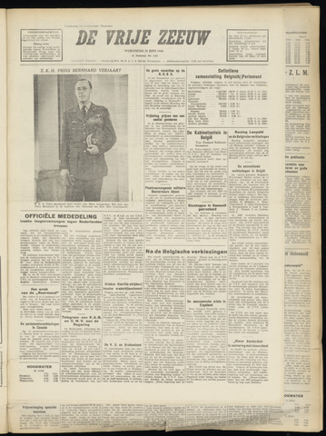 de Vrije Zeeuw 1949-06-29