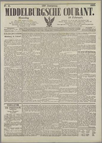 Middelburgsche Courant 1895-02-18