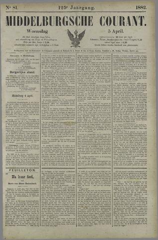 Middelburgsche Courant 1882-04-05