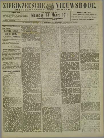 Zierikzeesche Nieuwsbode 1911-03-13