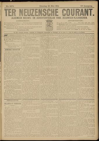 Ter Neuzensche Courant. Algemeen Nieuws- en Advertentieblad voor Zeeuwsch-Vlaanderen / Neuzensche Courant ... (idem) / (Algemeen) nieuws en advertentieblad voor Zeeuwsch-Vlaanderen 1914-05-26