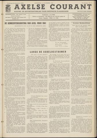 Axelsche Courant 1960-11-26