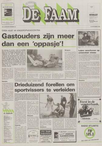de Faam en de Faam/de Vlissinger 1992-09-30
