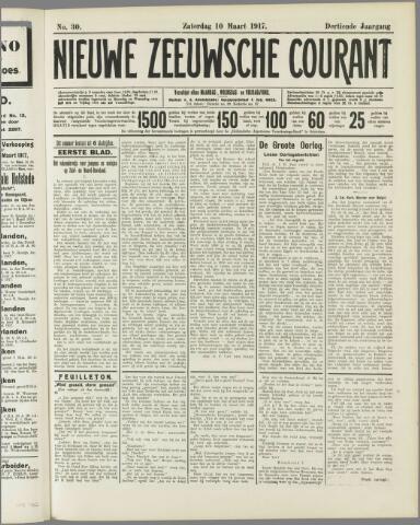 Nieuwe Zeeuwsche Courant 1917-03-10