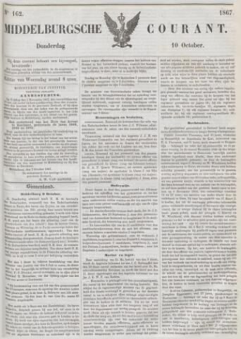 Middelburgsche Courant 1867-10-10