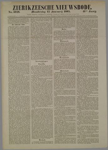 Zierikzeesche Nieuwsbode 1885-01-15