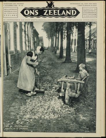 Ons Zeeland / Zeeuwsche editie 1932-11-04