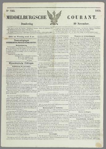 Middelburgsche Courant 1855-11-29