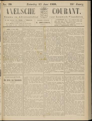 Axelsche Courant 1908-06-13