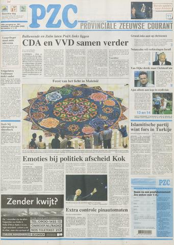 Provinciale Zeeuwse Courant 2002-11-04