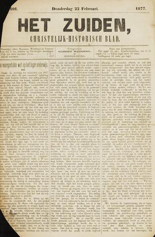 Het Zuiden, Christelijk-historisch blad 1877-02-22