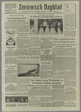 Zeeuwsch Dagblad 1958-03-15