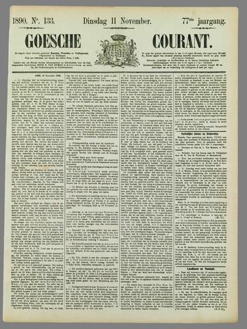 Goessche Courant 1890-11-11
