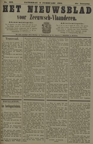 Nieuwsblad voor Zeeuwsch-Vlaanderen 1901-02-02
