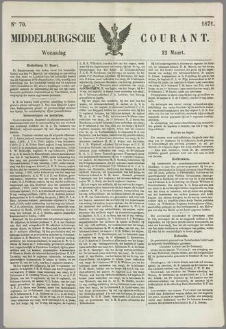 Middelburgsche Courant 1871-03-22