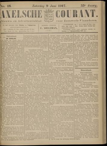 Axelsche Courant 1917-06-09