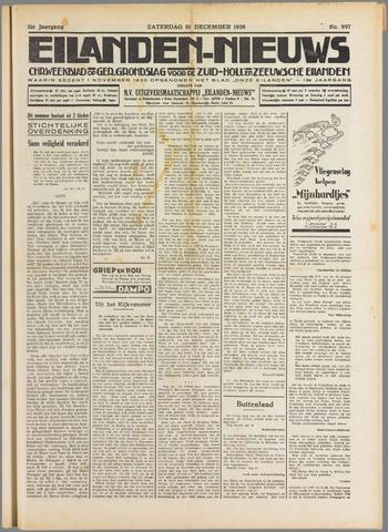 Eilanden-nieuws. Christelijk streekblad op gereformeerde grondslag 1938-12-10