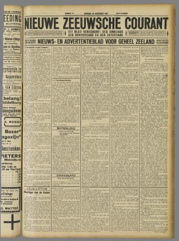 Nieuwe Zeeuwsche Courant 1927-11-29