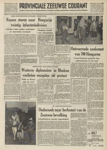 Provinciale Zeeuwse Courant 1956-11-19