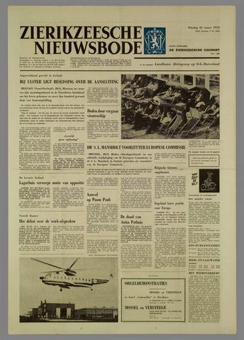Zierikzeesche Nieuwsbode 1972-03-21
