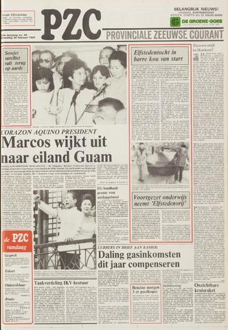 Provinciale Zeeuwse Courant 1986-02-26