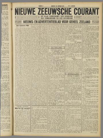 Nieuwe Zeeuwsche Courant 1931-01-20