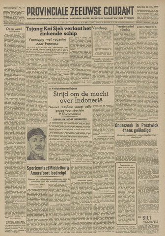 Provinciale Zeeuwse Courant 1949-01-22