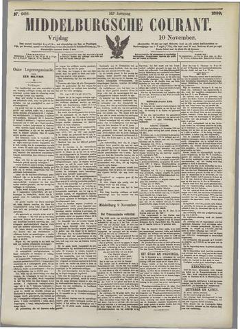 Middelburgsche Courant 1899-11-10