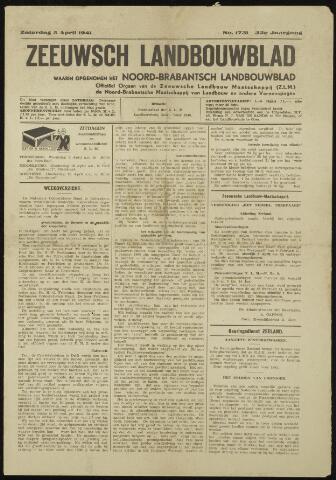 Zeeuwsch landbouwblad ... ZLM land- en tuinbouwblad 1941-04-05