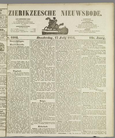 Zierikzeesche Nieuwsbode 1854-07-13