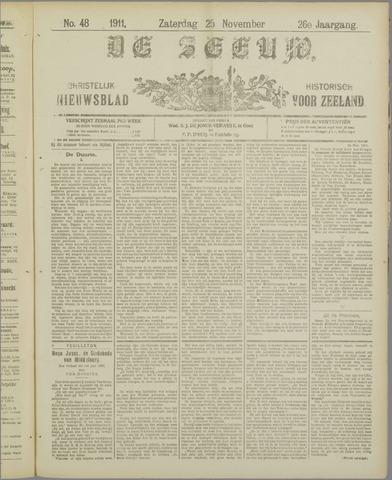 De Zeeuw. Christelijk-historisch nieuwsblad voor Zeeland 1911-11-25