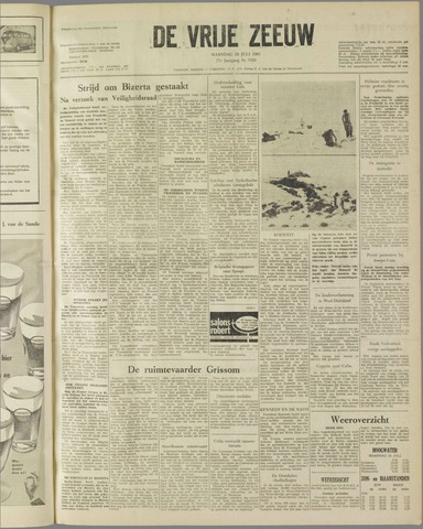 de Vrije Zeeuw 1961-07-24