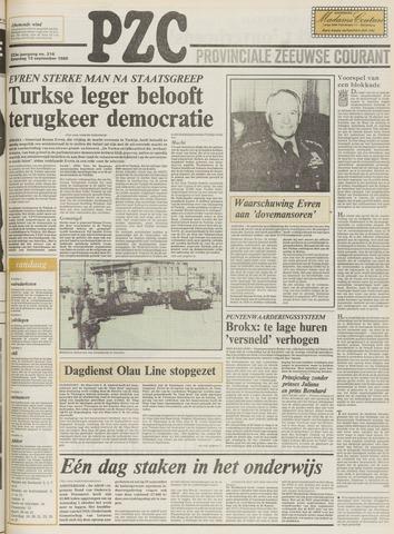 Provinciale Zeeuwse Courant 1980-09-13
