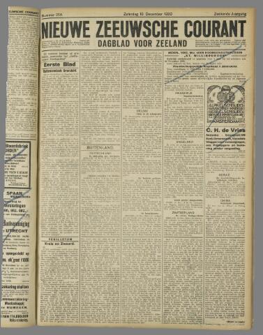 Nieuwe Zeeuwsche Courant 1920-12-18