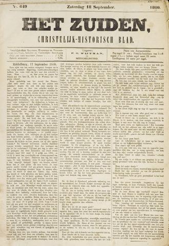 Het Zuiden, Christelijk-historisch blad 1880-09-18