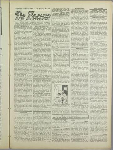 De Zeeuw. Christelijk-historisch nieuwsblad voor Zeeland 1943-03-01