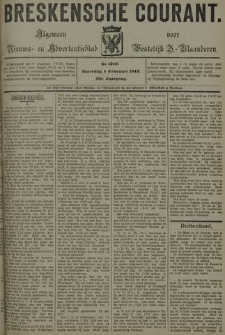 Breskensche Courant 1913-02-01