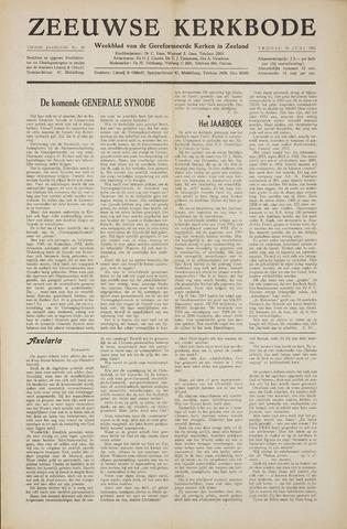 Zeeuwsche kerkbode, weekblad gewijd aan de belangen der gereformeerde kerken/ Zeeuwsch kerkblad 1955-06-10