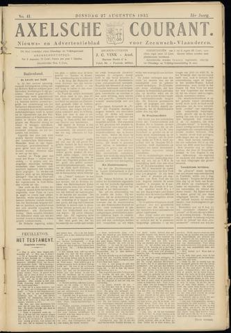 Axelsche Courant 1935-08-27